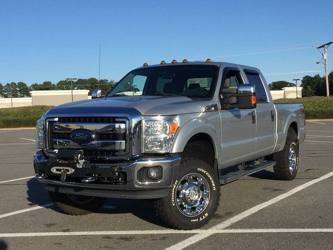 2014 Ford F250 4wd Crew Cab Cooper Discoverer STT PRO 275/70R18 (4968)