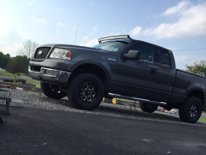 2016 Ford F150 Lifted >> T-ruck's 2004 Ford F150 XLT Super Cab 4wd Standard Payload 6-Lug