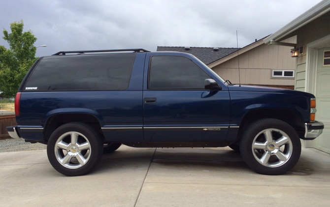 Tire Size Meaning >> Tahoe20's 1996 Chevrolet Tahoe 4wd 2dr