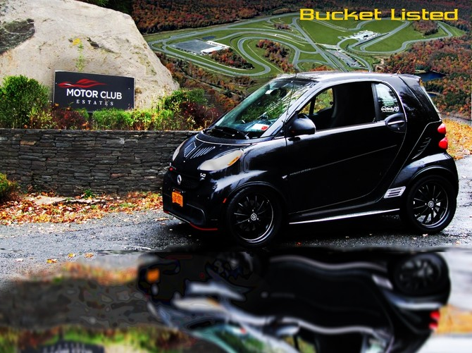 2014 Smart fortwo passion coupe Hankook Ventus V2 concept 2 205/40R17 (4851)