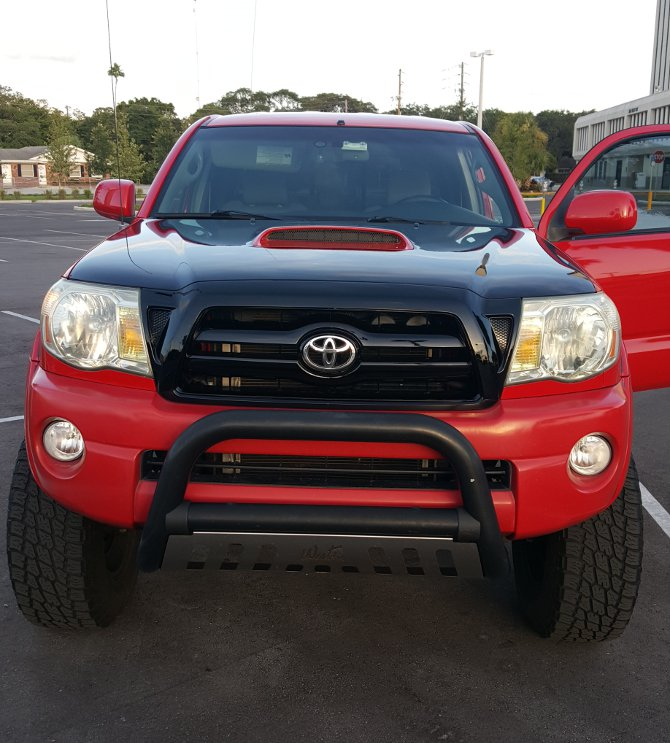 2007 Toyota Tacoma Double Cab 2wd Prerunner Nitto Terra Grappler G2 285/70R17 (1344)