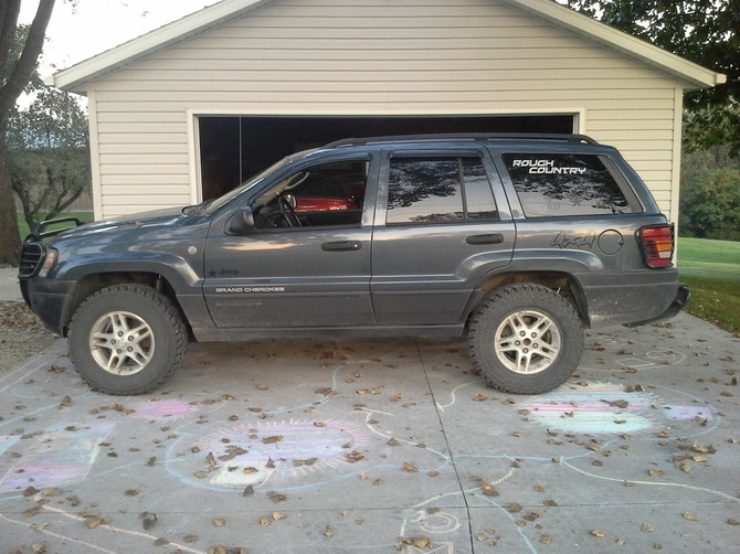 Tire size for 2004 jeep grand cherokee