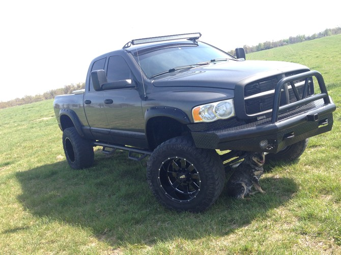 2004 Dodge Ram 2500 QuadCab 4wd Mark Ma DAKAR M/T 37/13.50R20 (1633)