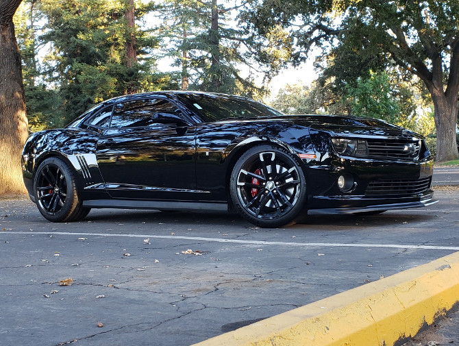 2012 Chevrolet Camaro SS RS Package Michelin Pilot Sport 4S 315/35R20 (4801)