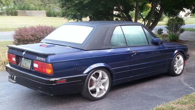 Walter S 1991 Bmw 325ic Cabrio