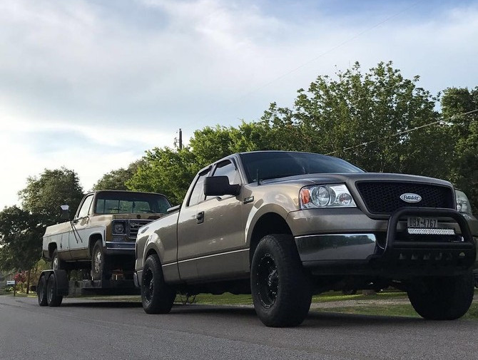 2004 Ford F150 XLT Super Cab 2wd Standard Payload 6-Lug Nitto Terra Grappler G2 275/70R17 (2691)