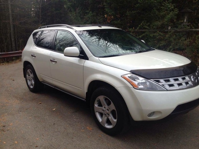 2005 Nissan Murano AWD Standard Model Goodyear Eagle RS-A 245/45R20 (1376)