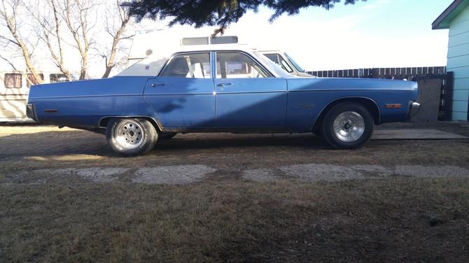 Tire Size Meaning >> bigblue's 1973 Plymouth Fury 3 Saskatoon S i R