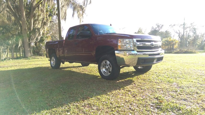 2013 Chevrolet Silverado 1500 2wd Extended Cab General Grabber HTS 265/70R17 (563)