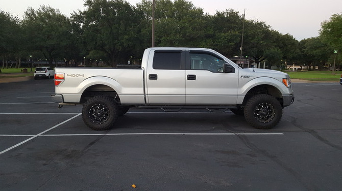 2014 Ford F150 4wd SuperCrew Mastercraft Courser MXT 295/70R18 (3347)