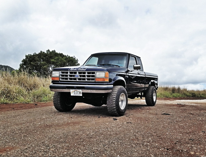 Ct S 1992 Ford Ranger Super Cab 4wd