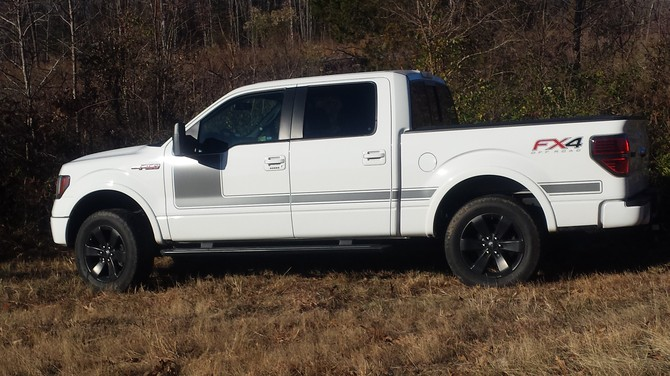 2013 ford f150 tire size