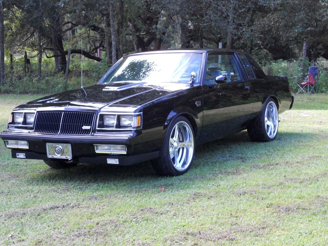 1987 BUICK REGAL GRAND NATIONAL Sumitomo HTR Z III 295/30R20 (1974)