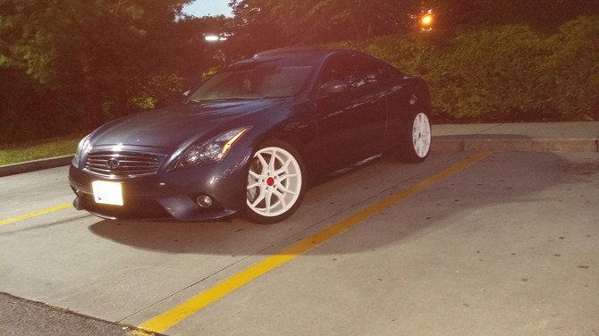 2012 Infiniti G37 Coupe Sport Toyo Proxes T1 Sport 305/35R19 (3370)