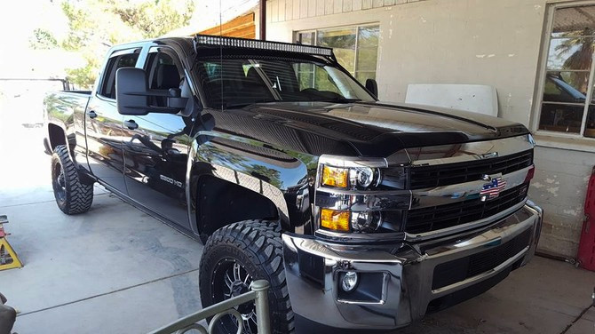 Tire Size Meaning >> ronh's 2015 Chevrolet Silverado 2500 HD 4wd Crew Cab