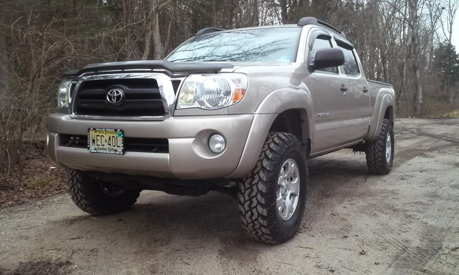 2007 Toyota Tacoma Double Cab 4wd Interco Super Swamper IROK ND 265/75R16 (2318)