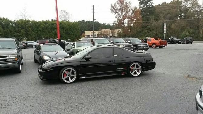 2004 Chevrolet Monte Carlo SS S/C Sumitomo HTR Z III 245/35R20 (