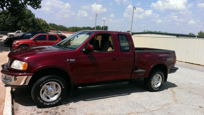 Ted S 1997 Ford F150 Super Cab 4wd