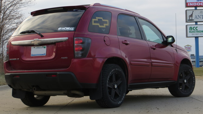 2005 Chevrolet Equinox LT AWD Cooper Discoverer AT3 235/60R17 (3103)