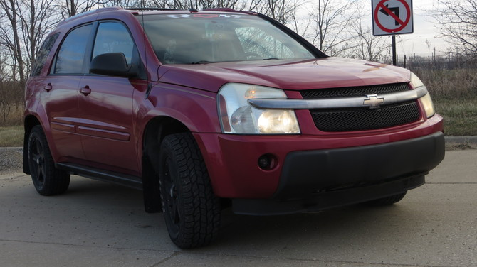 2005 Chevrolet Equinox LT AWD Cooper Discoverer AT3 235/60R17 (3104)