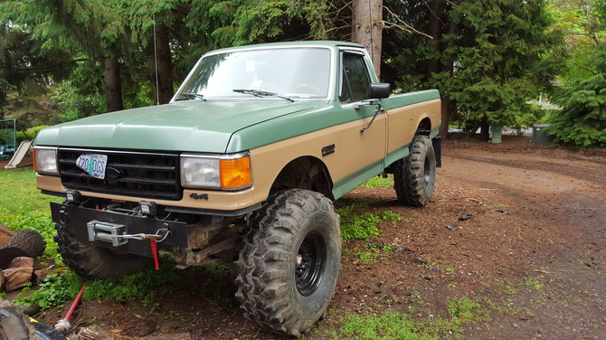 Zach S 1988 Ford F250 4wd Pick Up