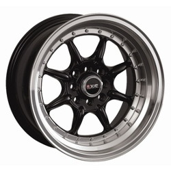 XXR 002 Black/Ml 16X7 4-114.3 Wheel
