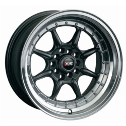 XXR 002 Gun Metal/Ml 15X8 4-114.3 Wheel