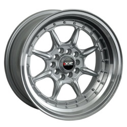 XXR 002 Hyper Silver/Ml 16X8 4-100 Wheel