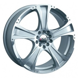 XXR 008 Machined/Silver 18X8 4-100 Wheel