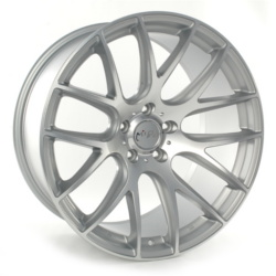 Miro 111 Hyper Silver Diamond Polish Face 20X10 5-120 Wheel