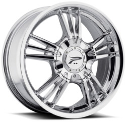 Platinum 122C WOLVERINE Chrome 17X8 4-100 Wheel