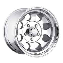 Pacer 164P - LT MOD Polished 17X9 6-135 Wheel
