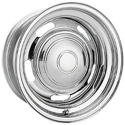Pacer 173C-CHROME RALLYE Chrome 15X8 5-127 Wheel