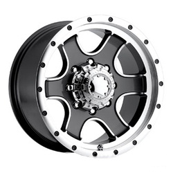 Ultra 173GM NOMAD Anthracite 17X9 6-139.7 Wheel