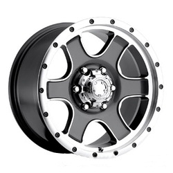 Ultra 174GM NOMAD Anthracite 17X9 6-139.7 Wheel