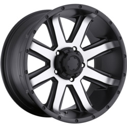 Ultra 195U CRUSHER Black 17X9 5-127 Wheel