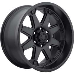 Ultra 198B BOLT Black 17X9 5-139.7 Wheel