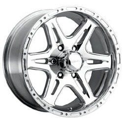 Ultra 207P BADLANDS Polished Wheel