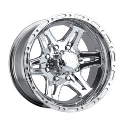 Ultra 208P BADLANDS Polished 18X9 5-127 Wheel