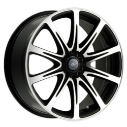 ICW Racing 209MB EURO Black Wheel