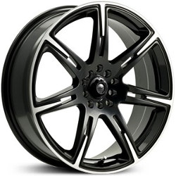 ICW Racing 210MB KAMIKAZE Black 18X8 4-100 Wheel