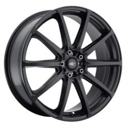 ICW Racing 215B Black 16X8 5-105 Wheel