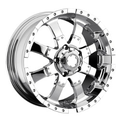 Ultra 224C GOLIATH Chrome 18X9 6-139.7 Wheel