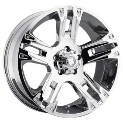 Ultra 234C MAVERICK Chrome 17X8 6-139.7 Wheel