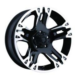 Ultra 235B MAVERICK Black 20X9 6-139.7 Wheel