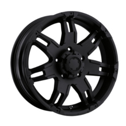 Ultra 237B GAUNTLET Black 17X9 8-165.1 Wheel