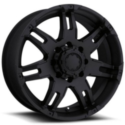 Ultra 238B GAUNTLET Black 18X9 5-127 Wheel