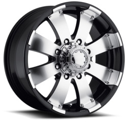 Ultra 243B MAKO Black 16X8 6-139.7 Wheel