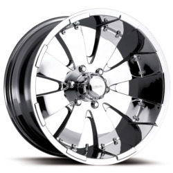 Platinum 243C MAKO Chrome 17X8 6-139.7 Wheel
