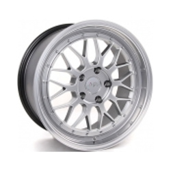 Miro 279MO2 Hyper Silver Diamond Polish Lip 17X8 4-100 Wheel